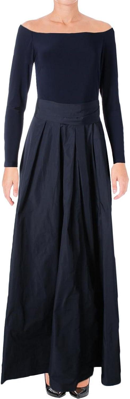Lauren Ralph Lauren Womens Jacene Taffeta Night Out Evening Dress
