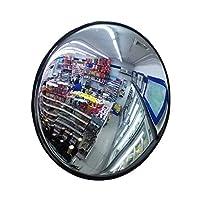 カーブミラー 車庫鏡 取付金具付き30センチメートル屋内屋外の凸PCミラー安全ミラー、アンチ破損、 huhuan 1-26