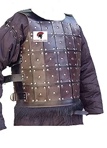 Nomad Armor - Armadura de cuero para disfraz LARP y Cosplay