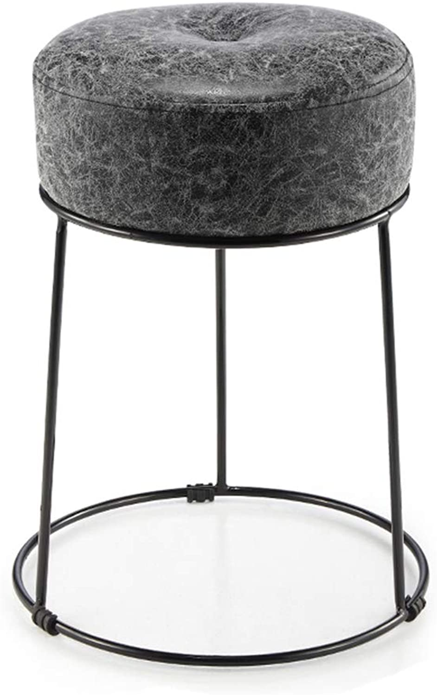 Stool Stool Small Bench Makeup Stool Living Room Sofa Stool Chair Dining Table Stool (color   B)