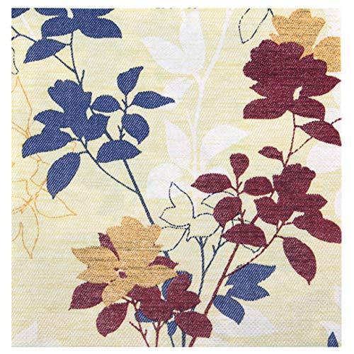 finemark 100 servilletas de papel color crema burdeos, 40 x 40 cm, 3 capas, decoración de mesa, cumpleaños, fiestas, cenas