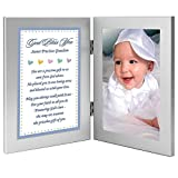 New Baby Boy Grandson Baptism Gift, Add Photo