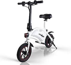 Windgoo B3 Electric Bike, 12 inch Foldable and Commuting E-Bike, 350W Motor with a 42V 6.0Ah Lithium Battery, Max Speed 25...