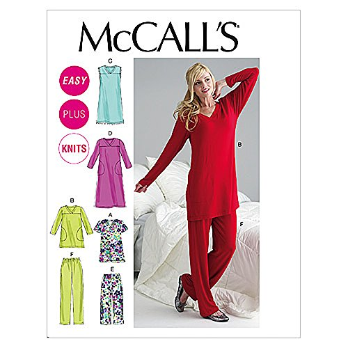 McCall's Patterns M6474 Misses'/Women's Top, Tunic, Gowns and Pants, Size B5 (8-10-12-14-16)
