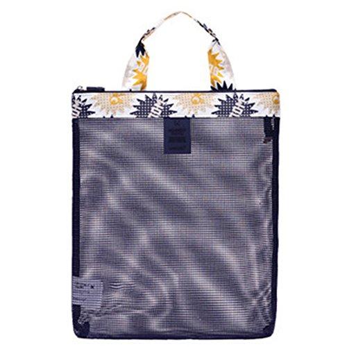 TININNA Multipurpose–Bolso bandolera impermeable poliéster engrener comestique bolso  bolsa Claire–Bañador para mujer transparente, amarillo, Paquete de 1