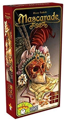 Asmodee ASMMASMU02 – mascarad, engelsk, kortspel