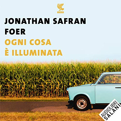 Ogni cosa è illuminata audiobook cover art