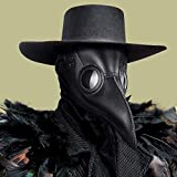 Halloween Plague Doctor Mask for Adults -...