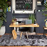 Mindful Living Solid Wood Chevron Living Room Table Collection (Desk)