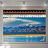 NHhuai Tapices Decoración para Dormitorio o Sala de Estar, Paño para Colgar en el Porche Tibetano
