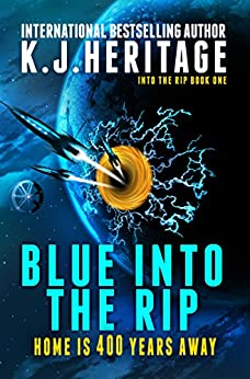 Blue Into The Rip by [K.J. Heritage]