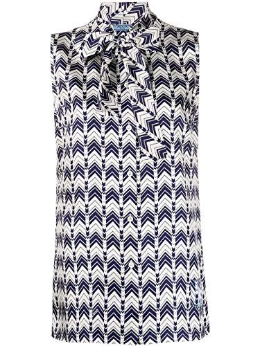 Prada Luxury Fashion Damen P429ES2011WUWF0216 Multicolour Seide Bluse   Frühling Sommer 20