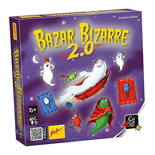 Gigamic Zoba2 – Juego de Mesa – Basar Bizarre 2.0