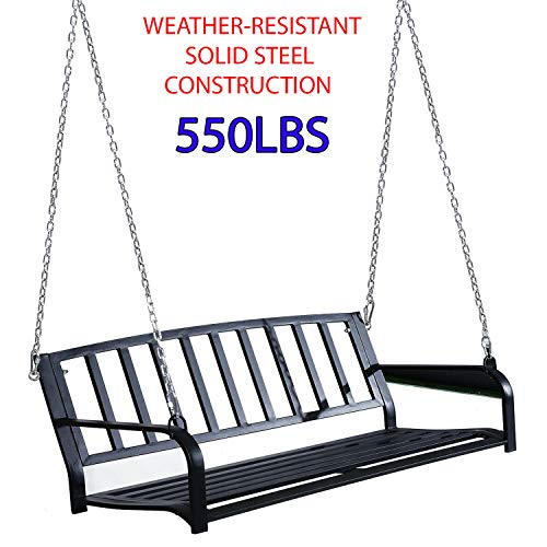 550Lbs Weather-resistant & Solid Steel...