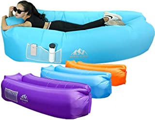 Wekapo Inflatable Lounger Air Sofa Hammock-Portable,Water Proof& Anti-Air Leaking..
