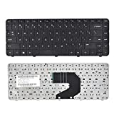 Eathtek Replacement Keyboard for HP G4-1000 G6-1000 Home 2000-2a01XX 2000-2a09CA 2000-2a10NR 2000-2a12HE 698694001 636191-001 640892-001 698694-001 643263-001 636376-001 Series Black US Layout
