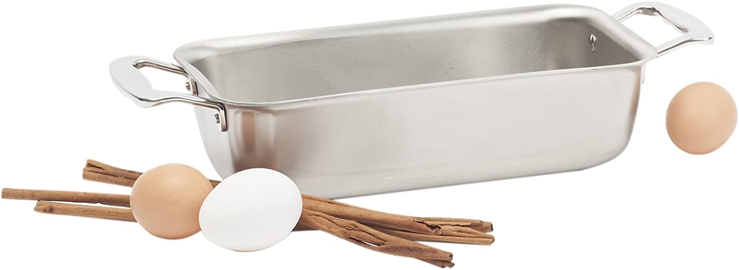 360 Cookware Stainless Steel Bakeware Loaf Pan