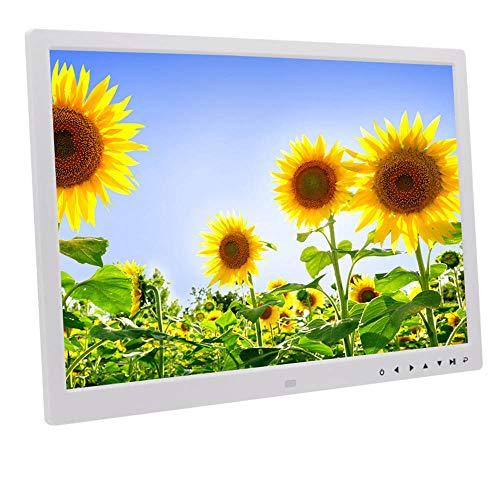 SHU XIN 17 inch Touch Button Digital Photo Frame Electronic Photo Album HDMI HD 1080P Video Advertising Machine Large Digital Photo Frame