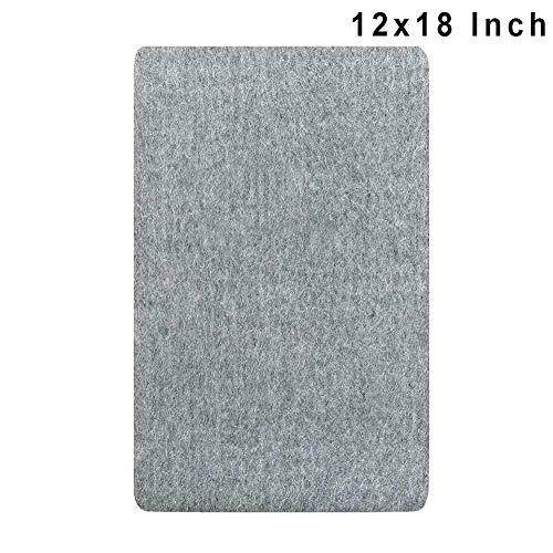 Gelentea Wool Pressing Mat Strijkmat Hoge Temperatuur Strijkplank Vilt Press Mat, Draagbare Strijkmat Druk Mat voor Thuis