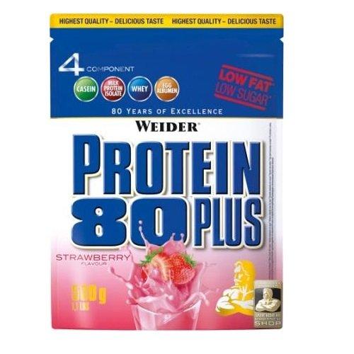 Weider Protein 80 plus 3 x 500g Beutel 3er Pack Waldfrucht-Joghurt