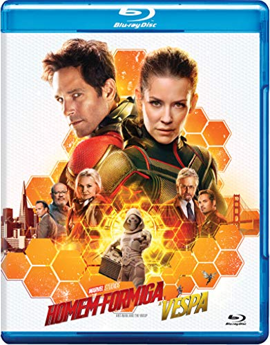 Homem-Formiga E A Vespa [Blu-ray]