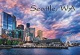 Seattle, Washington, City Skyline, Seattle...