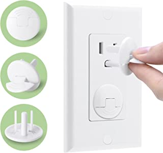 38 Pack Baby proofing Outlet Plugs, PRObebi No Easy to Remove by Children Keep Prevent Baby from Accidental Shock Hazard