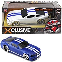 XTR Toys Xclusive Motorworks 2009 Ford Mustang GT Full Function Radio Control 49 Mhz for Kids Age 8+ ( Assorted Color )