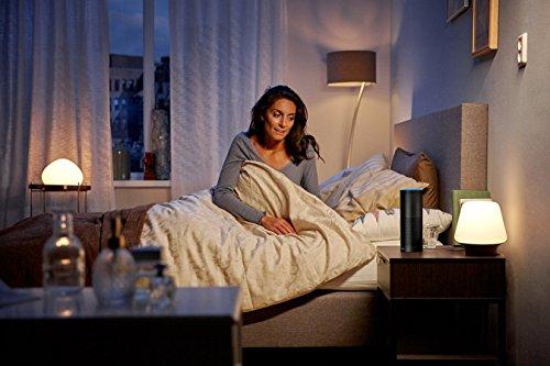 Philips Hue White Ambiance LED Lampe E27 Starter Set inkl. Dimmschalter und Bridge, alle Weißschattierungen, steuerbar via App, Standard Verpackung [Energieklasse A+] - 4