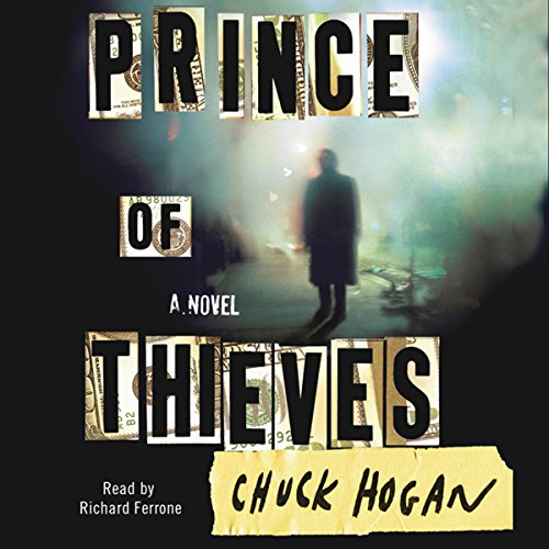 Prince of Thieves audiobook cover art