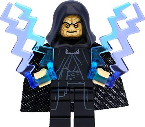 LEGO Star Wars Imperator Palpatine / Darth Sidious (2016) con flash de poder y espada láser