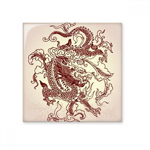 DIYthinker Baldosas de cerámica Bisque para decorar la cocina de la decoración del cuarto de baño - Azulejos de pared medio