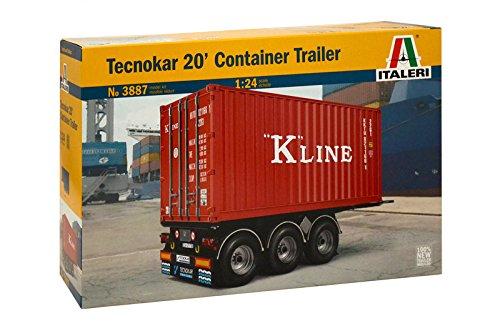 Italeri 3887 01:24 20' Container Trailer