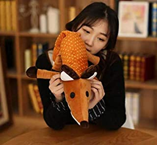 liujiu Movie Little The Prince and The Fox Plush Toys Stuffed Animals Foxes Toys Doll for Kids 1Pc Soft Pillow 40Cm