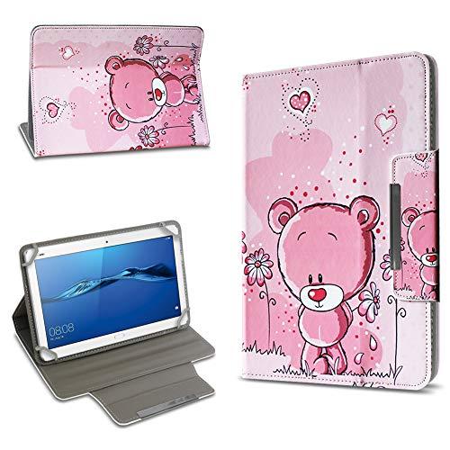 UC-Express Tablet Schutz Hülle Huawei MediaPad T1 T2 T3 10.0 Tasche Hülle Schutz Hülle Universal Standfunktion Verschiedene Motive Farbauswahl, Motiv:Motiv 5