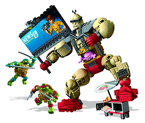 Mega Bloks DMW32 Teenage Mutant Ninja Turtles Spielzeug