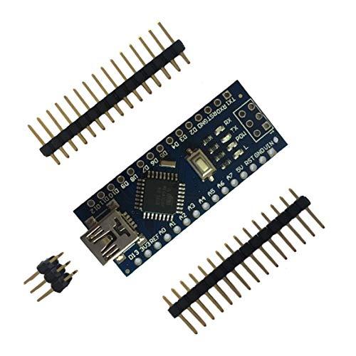 SHTAO Mini Breadboard-friendly USB Nano V3.0 ATmega328 5V Micro-controller Board Voltage Regulator For Arduino-compatible