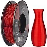Filament TPU 1.75mm, Eryone TPU Filament 1.75mm, 3D Printing Filament TPU for 3D Printer, 0.5kg 1 Spool, Transparent Red