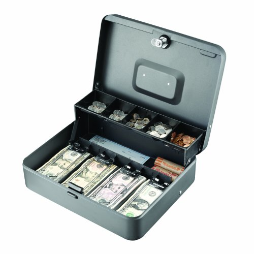 Steelmaster Tiered Tray Cash Box, 1 Each (MMF2216194G2)