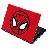 Skinit Decal Laptop Skin for Aspire R11 11.6in - Officially Licensed Marvel/Disney Spider-Man Face Design