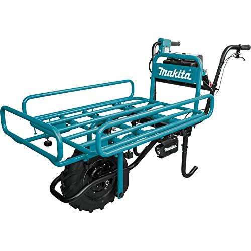 Makita XUC01X2 36V (18V X2) LXT Brushless Power-Assisted Flat Dolly, Tool Only