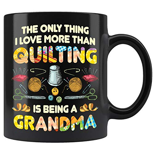 Quilting Sewing Machine Funny Sew Grandma Sewer Quilter Coffee Mug 11oz Tea Cup