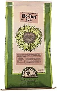 Down to Earth Organic Bio-Turf 8-3-5 Fertilizer Blend, 50-Pound