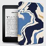 Kindle Case,Funda Kindle con Diseño De Rayas De Río, Funda con Tapa Trasera Compatible con Kindle Paperwhite Funda para Kindle De Séptima Generación para Reposo / Activación Automática, N.O Pq