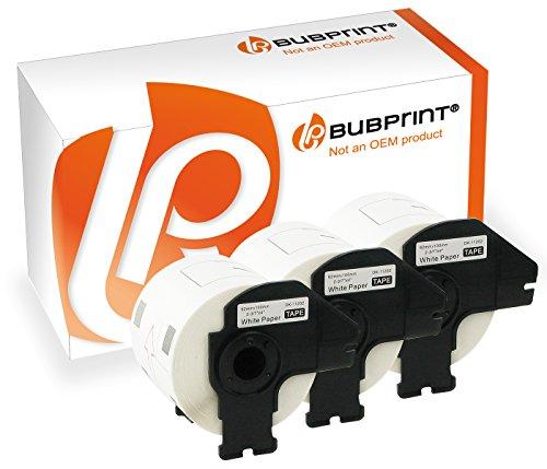 Bubprint 3 Etiketten kompatibel für Brother DK 11202 DK-11202 für P-Touch QL1050 QL1060N QL500 QL550 QL560 QL570 QL580N QL700 QL710W QL720NW QL810W