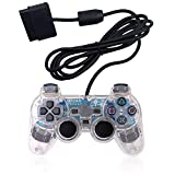 PS2 Game Wired Controller,GamePal for Sony Playstation 2 (White)