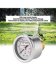Indicador de presión Indicador G1 / 2 DN15 Indicador de presión Indicador de presión axial Durable para plantar