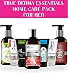True Derma Essentials Summer Skin Care Pack Paraben and Sulfate-Free Body Lotion, Face