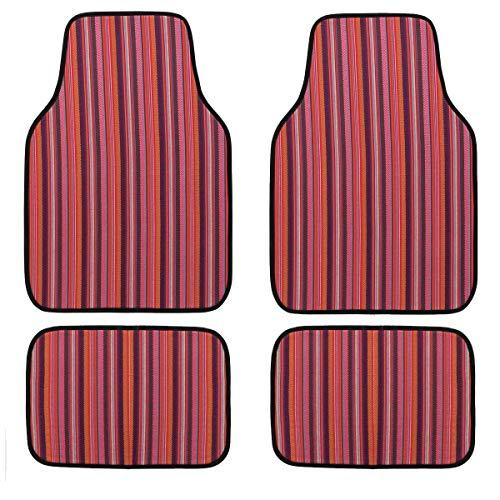 Car Pass Universal-Bodenmatten im Ethno-Stil, wasserdicht, 4 Stück, passend für SUVs, Vans, Limousinen, Trucks