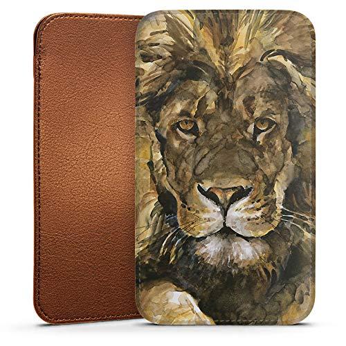 DeinDesign Housse Sleeve Protection Housse Chaussette pour Wiko Jerry Lion Crinière Roi des Animaux